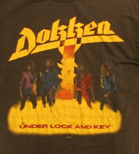 [古着/USED] 86's ポルトガル製 DOKKEN Tシャツ