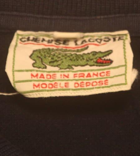 [古着/USED] 60's フランス製 ラコステ ポロシャツ