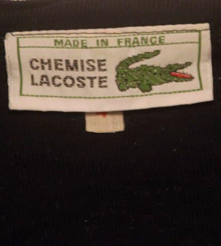 [古着/USED] 70's フランス製 ラコステ Tシャツ