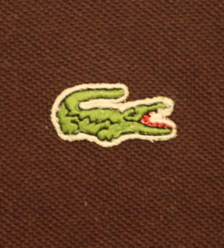 [古着/USED] 70's フランス製 ラコステ ポロシャツ