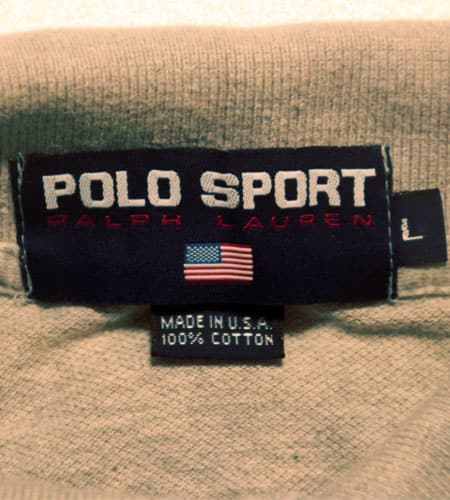 90's  USA製 ポロスポーツ ポロシャツ