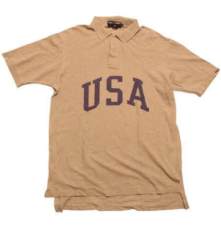 [古着/USED] 90's  USA製 ポロスポーツ ポロシャツ