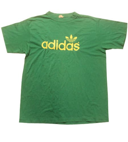 [古着/USED] 80's アメリカ製 アディダス Tシャツ