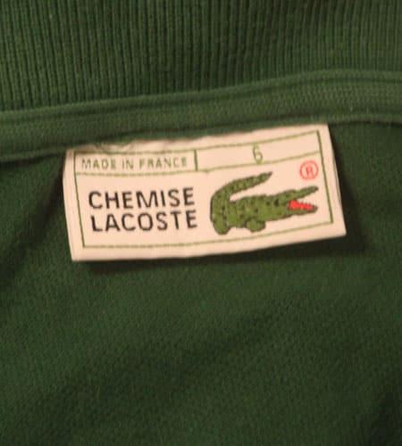 70's フランス製 ラコステ ポロシャツ