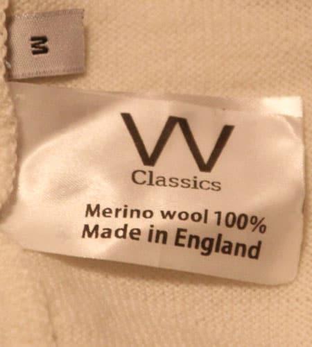 [古着/USED] 50's イングランド製 VVC フォード メリノウールジャージ