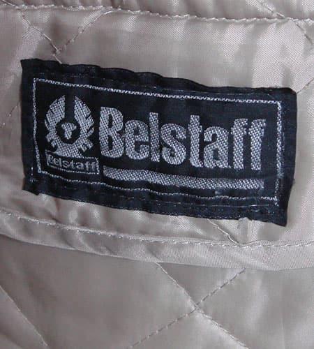 [古着/USED]  イングランド製 ベルスタッフ ボディーウォーマージャケット