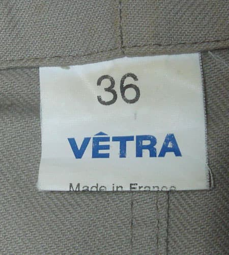 フランス製 VETRA ジャケット