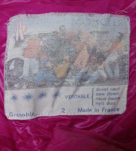 [古着/USED] 80's フランス製 モンクレール ダウンジャケット