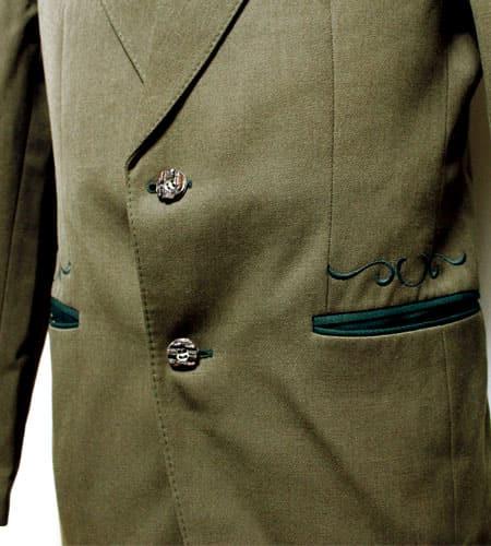 [古着/USED] 70's オーストリア製 チロリアンテーラードジャケット