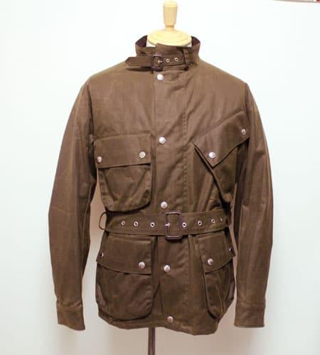 ブラウン マッキントッシュ KENNEDY ワックスジャケット