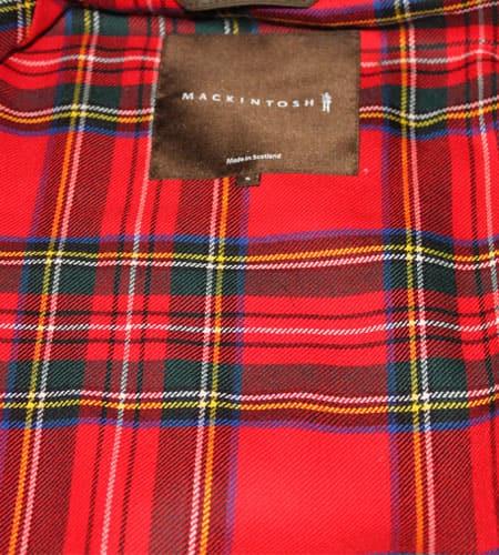 [新品]  スコットランド製 ネイビー マッキントッシュ KENNEDY ワックスジャケット