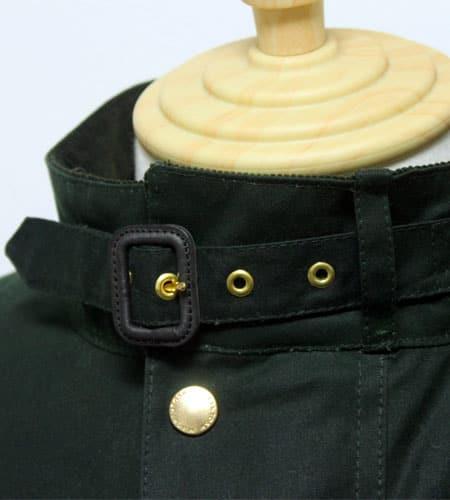 [新品]  スコットランド製 グリーン マッキントッシュ KENNEDY ワックスジャケット