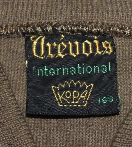 [古着/USED] 70's フランス製 ブラウン Trevois ニットジャージ