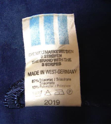 [古着/USED]  西ドイツ製 ベロア アディダスジャージ(js-288)
