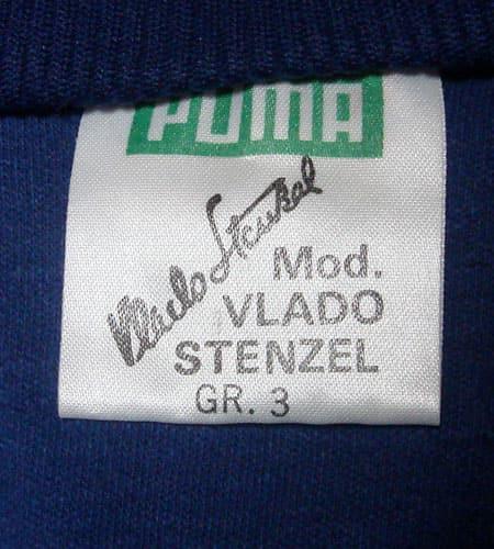 70's 西ドイツ製 プーマジャージ VLADO STENZELシグニチャーモデル