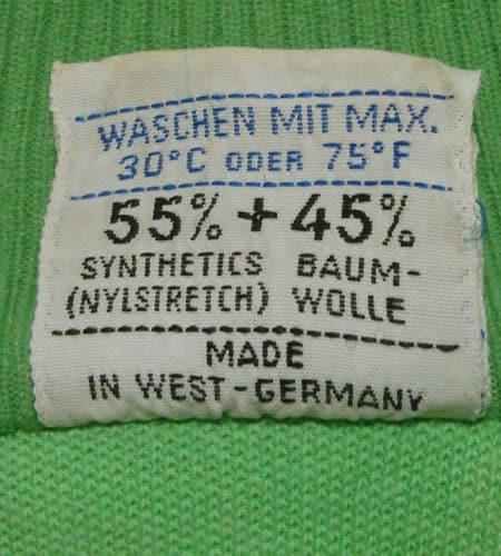 [古着/USED] 60's 西ドイツ製 スワンモデル アディダスジャージ