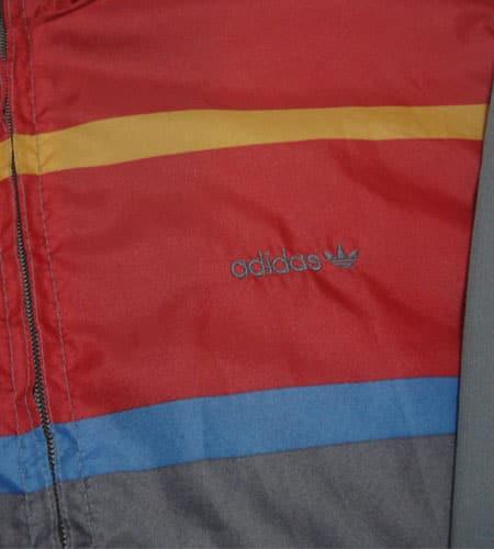 [古着/USED] 80's 西ドイツ製 マルチカラー アディダスジャージ