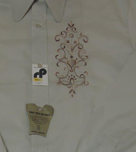[古着/USED] 70's フランス製 デッドストック ドレスシャツ