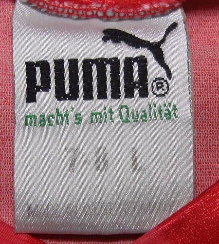 [古着/USED] 80's 西ドイツ製 プーマ サッカーシャツ