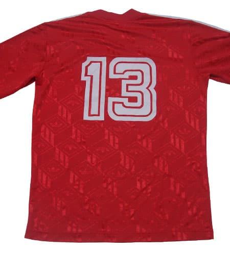 [古着/USED] 80's チュニジア製 アディダス サッカーシャツ