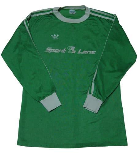 アディダス 西ドイツ製サッカーシャツ