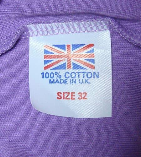 [古着/USED]  イングランド製 ユーロTシャツ ロングスリーブ