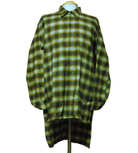 [古着/USED] 60's フランス製 グランパシャツ