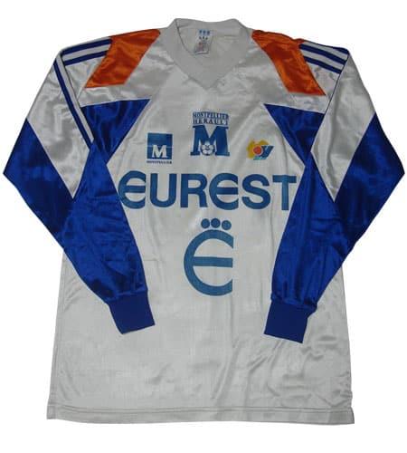 [古着/USED] 90's フランス製 アディダス サッカーシャツ