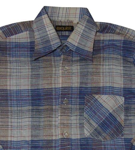 [古着/USED] 70's 西ドイツ製 ユーロドレスシャツ