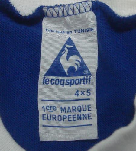 [古着/USED] 70's チュニジア製 ルコック サッカーシャツ