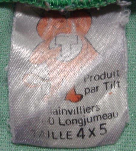 [古着/USED] 70's フランス製 TILT サッカーシャツ