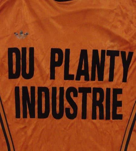 [古着/USED] 70's フランス製 オレンジ アディダスサッカーシャツ