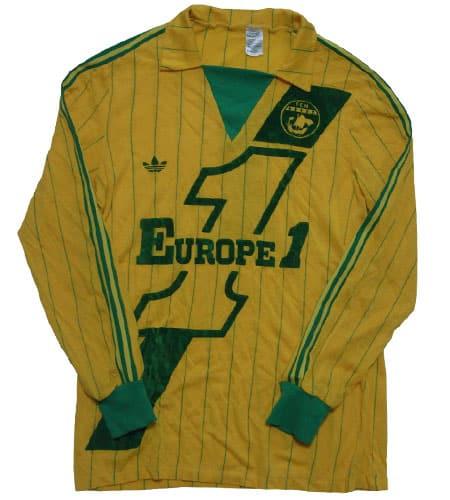 [古着/USED] 70's フランス製 FCナント アディダスサッカーシャツ