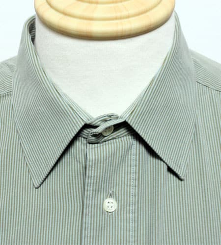 80's フランス製 ピエールカルダン ストライプドレスシャツ