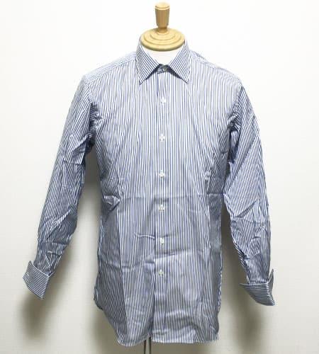 [古着/USED]  イングランド製 HILDITCH&KEY カフスストライプドレスシャツ