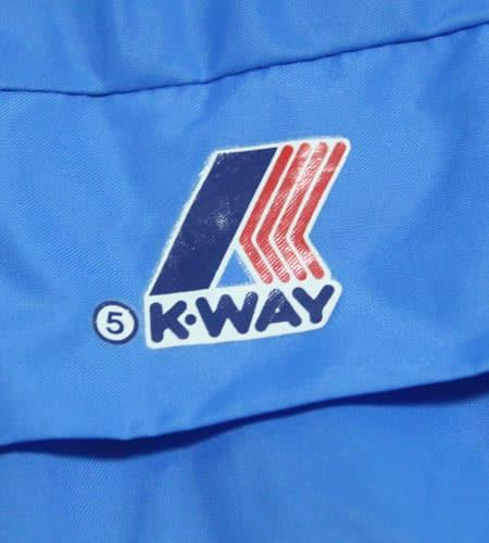 80's ポルトガル製 K-WAY ナイロンジャケット