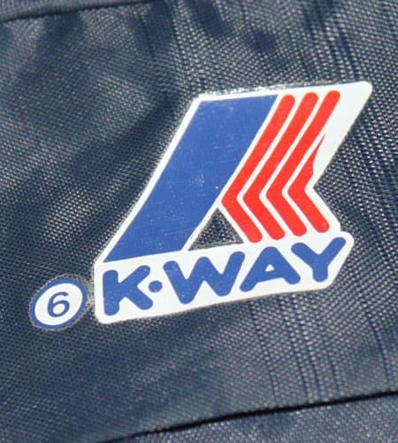 [古着/USED] 80's ポルトガル製 K-WAY ナイロンジャケット
