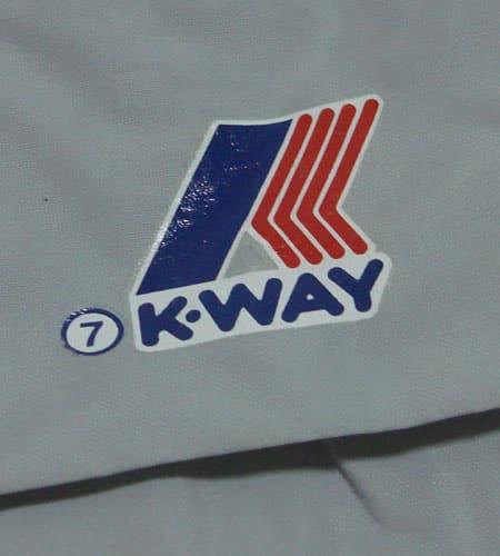 80's モロッコ製 K-WAY ナイロンジャケット