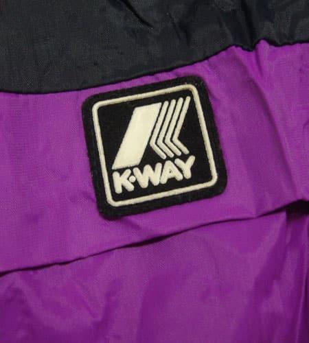 80's フランス製 K-WAY ナイロンジャケット