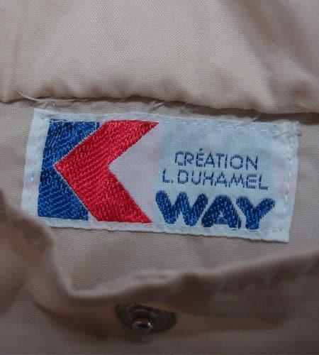 80's フランス製 K-WAY リバーシブルジャケット