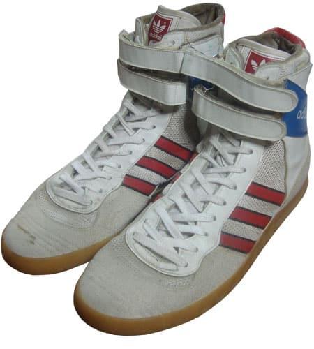 [古着/USED] 80's 西ドイツ製 アディダス バドミントンスーパーハイ