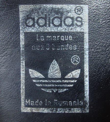 [古着/USED] 80's ルーマニア製 アディダス レナウン
