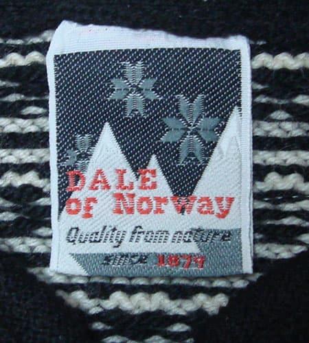 [古着/USED]  ノルウェー製 DALE OF NORWAY ノルディックセーター