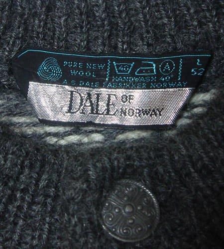 [古着/USED] 80's ノルウェー製 DALE OF NORWAY ノルディックセーター