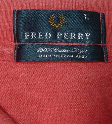 イングランド製 フレッドペリー ポロシャツ
