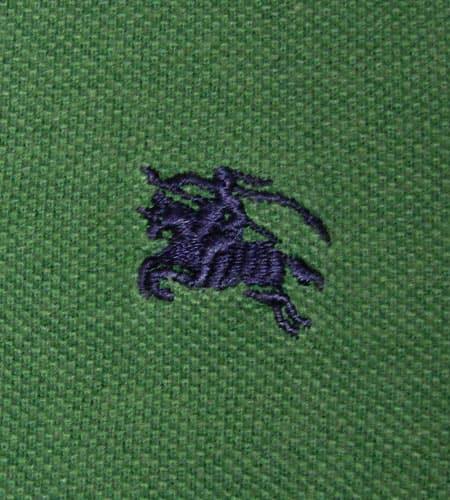 [古着/USED] 80's イングランド製 バーバリー ポロシャツ