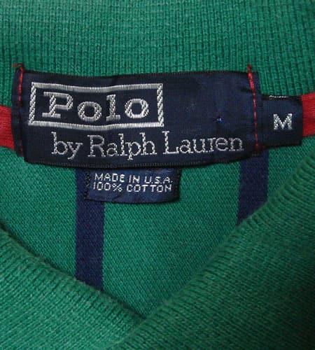[古着/USED]  US製 ラルフローレン ポロシャツ