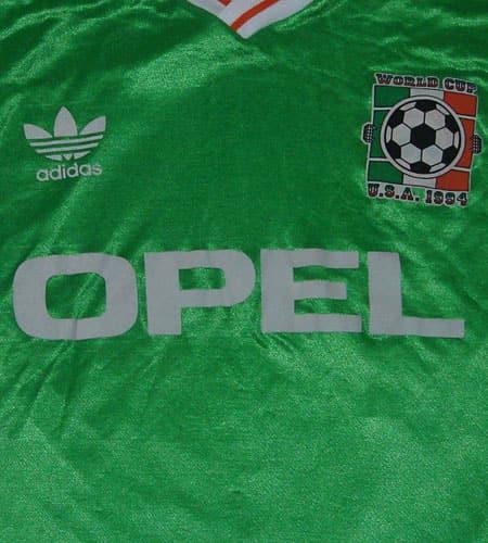 [古着/USED] 90's アイルランド製 アディダス サッカーシャツ
