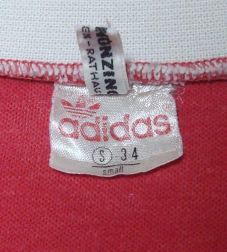 [古着/USED] 80's 西ドイツ製 アディダス バイエルンミュンヘン サッカーシャツ
