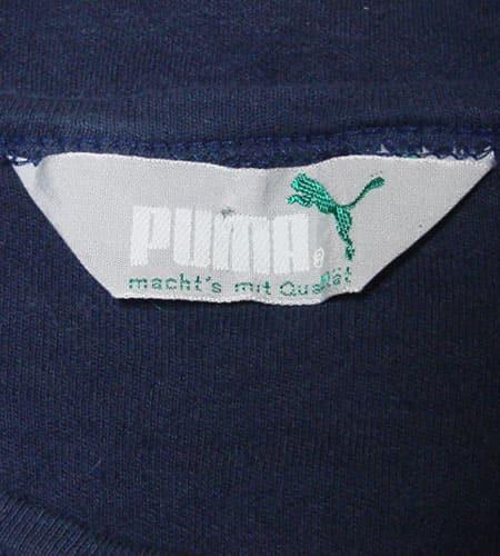 70's 西ドイツ製 プーマ Tシャツ